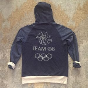 RARE! Adidas Stella McCartney GB Olympic Hoodie